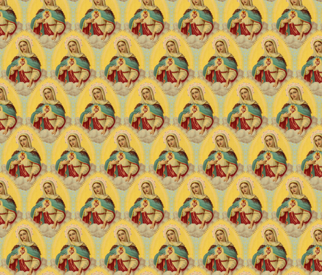 Mary fabric by lord-orlando on Spoonflower - custom fabric