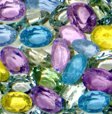 Sapphires / summer flowers pallet