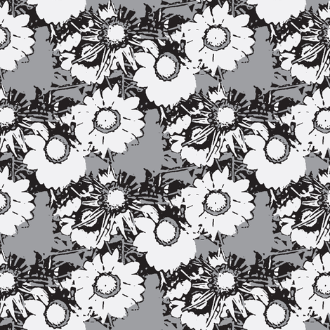Starburst Print Desaturated fabric by nalo_hopkinson on Spoonflower - custom fabric