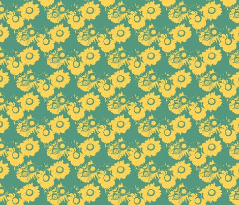 Starburst Bicolore fabric by nalo_hopkinson on Spoonflower - custom fabric