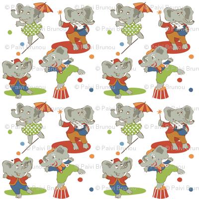 cirkus elefanter