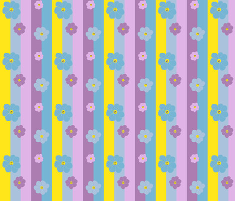 spoonflower_silly_summer_flowers fabric by thursday_next on Spoonflower - custom fabric