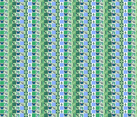 Check - Grieving Mothers  fabric by paragonstudios on Spoonflower - custom fabric