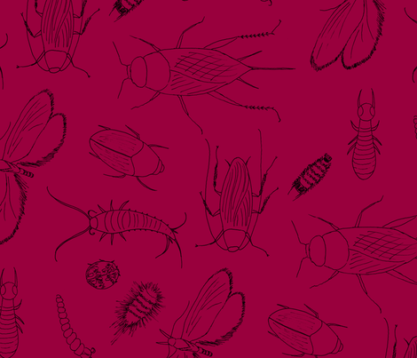 I_have_the_jitters_R13T28 fabric by victorialasher on Spoonflower - custom fabric