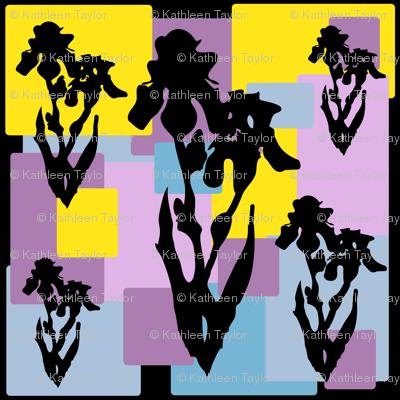 Iris Silhouette