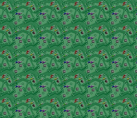 Compute This fabric by morellco on Spoonflower - custom fabric