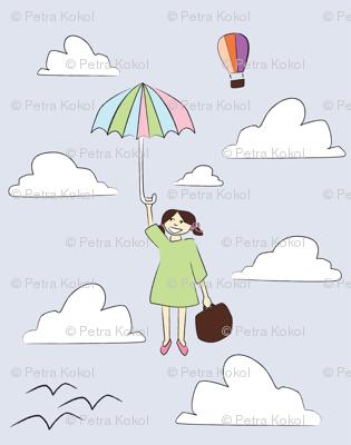 moj dežnik je lahko balon