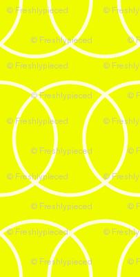 Tennis Ball Chain Link Yellow