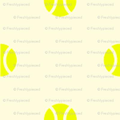 Tennis Ball Dot White