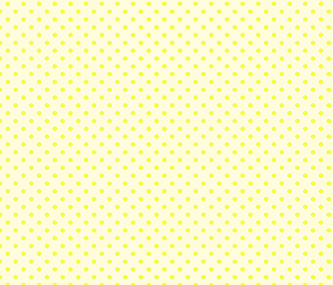 Tennis Ball Dot White fabric by freshlypieced on Spoonflower - custom fabric