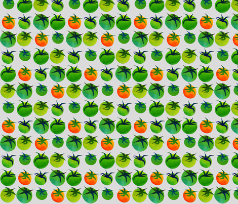 My Green Tomatoes fabric by spellstone on Spoonflower - custom fabric