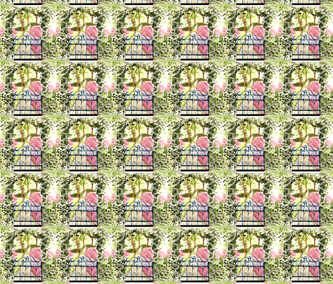 The Secret Garden fabric by karenharveycox on Spoonflower - custom fabric