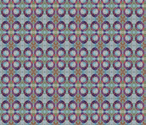Fun with circles and spirals fabric by suebee on Spoonflower - custom fabric