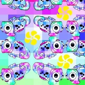 Psychedelic Chameleon