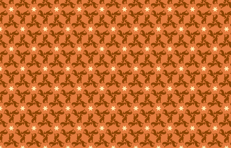 Rust Greyhounds gg1 fabric by artbyjanewalker on Spoonflower - custom fabric