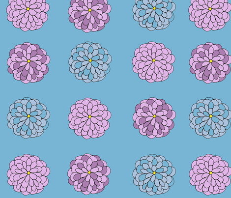 A_summer_flower fabric by 5u5an on Spoonflower - custom fabric