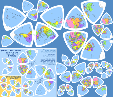 the $11 world traveler - updated Dec 2012 fabric by weavingmajor on Spoonflower - custom fabric