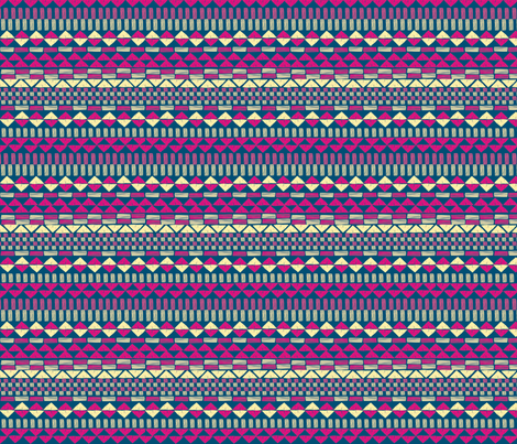 Tribal fabric by lydia_meiying on Spoonflower - custom fabric