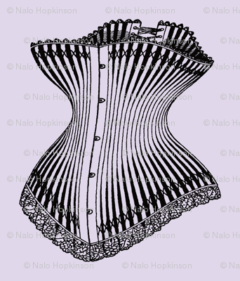 Nip and Tuck, vintage corsets