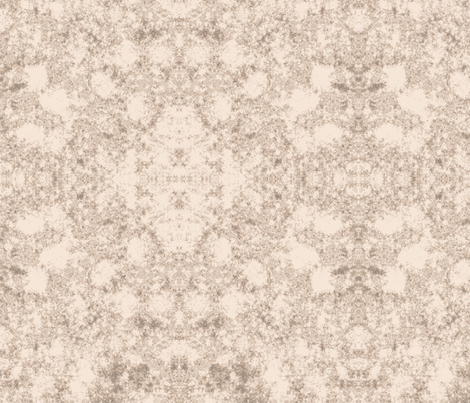 Lichen in Light Brown fabric by gingezel on Spoonflower - custom fabric