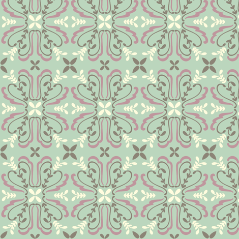 Trellis fabric by alisontauber on Spoonflower - custom fabric