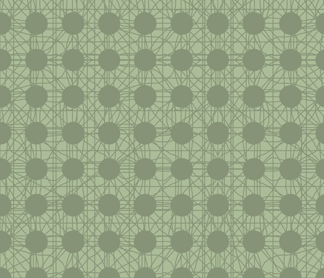 Wanderer in Olive fabric by delsie on Spoonflower - custom fabric