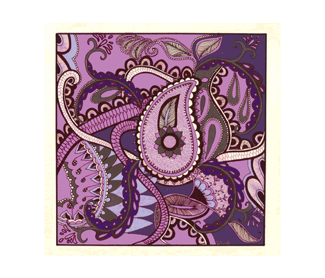 Paisley_Octopus_picnik-ch fabric by lenoralb on Spoonflower - custom fabric
