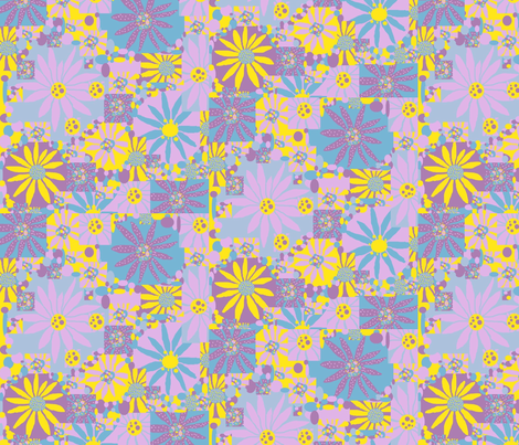 JamJax_Flowerette fabric by jamjax on Spoonflower - custom fabric