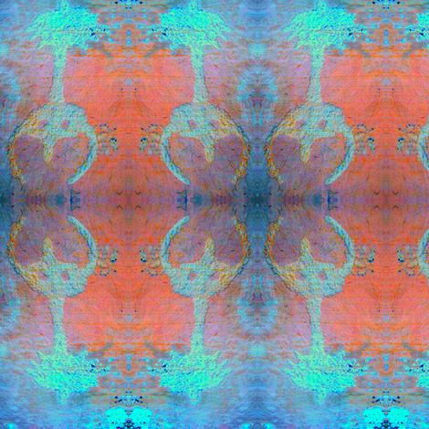 firedancer palm trees fabric by nicoledupont2 on Spoonflower - custom fabric