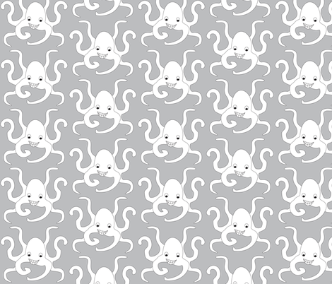 PaulPsychicOctopus fabric by dolphinandcondor on Spoonflower - custom fabric