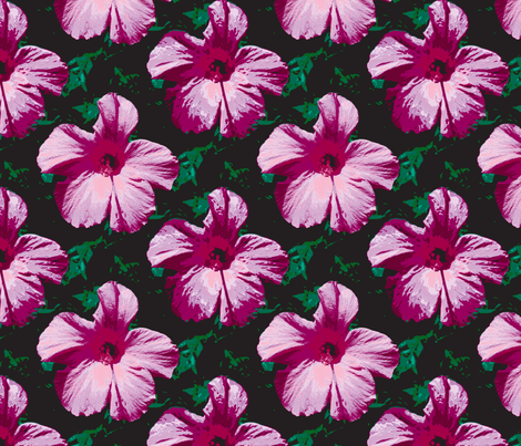 fleurries fabric by peacoquettedesigns on Spoonflower - custom fabric