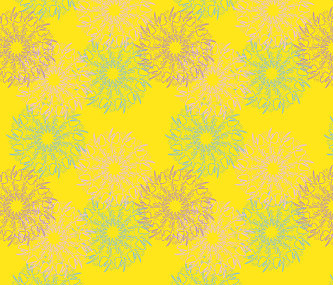 fabulous-floral-multi fabric by heatherrothstyle on Spoonflower - custom fabric