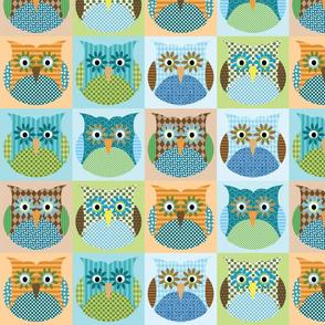 Alexander Owls - blue