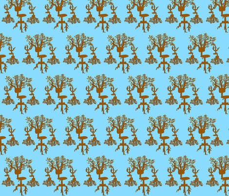Office Chair Tree fabric by handmadepretties on Spoonflower - custom fabric