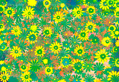 Green daizy