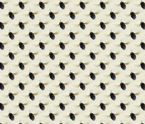 Save the Bees! fabric by peacoquettedesigns on Spoonflower - custom fabric
