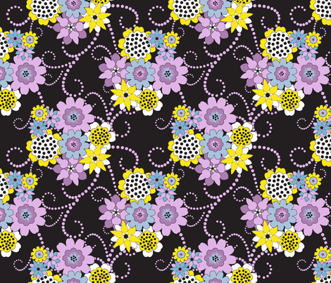 Flowers for Jimmy fabric by deesignor on Spoonflower - custom fabric