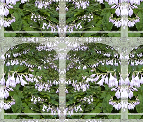 Hosta banner defined fabric by wren_leyland on Spoonflower - custom fabric