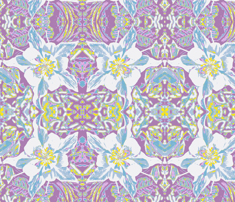 columbine fabric by zanzibarbarian on Spoonflower - custom fabric