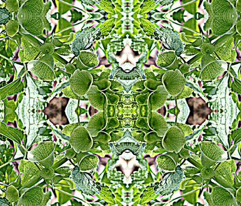 bells of ireland fabric by zanzibarbarian on Spoonflower - custom fabric