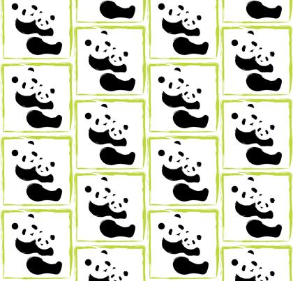 Panda Mama & Baby