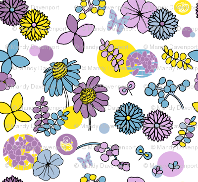 Paintbox Flowers
