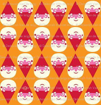 Little Forest Gnome in orange