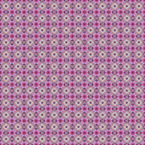 Lovely grey & pink pattern fabric by vib on Spoonflower - custom fabric
