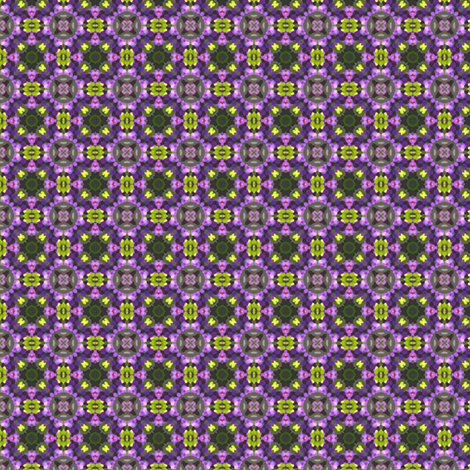 Yellow & purple tiles fabric by vib on Spoonflower - custom fabric