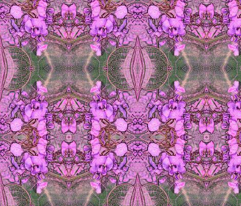 Native Pea Flower in Pink fabric by engelstudios on Spoonflower - custom fabric