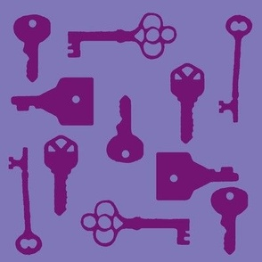 purple keys