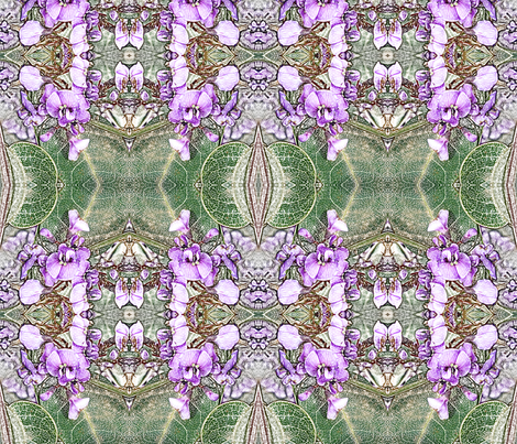 Hardenbergia fabric by engelstudios on Spoonflower - custom fabric