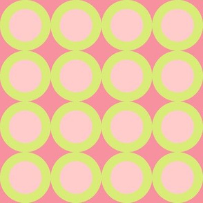 Rings - Cotton Candy, Blush, Celery