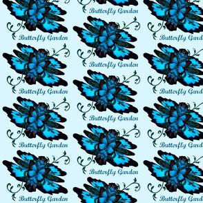 Fleur-de-lis butterfly Garden